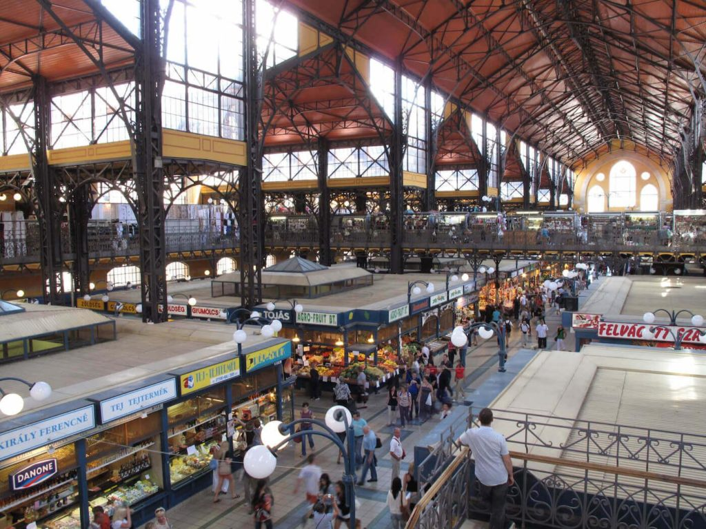 Hungarian food from Budapest's Central Market