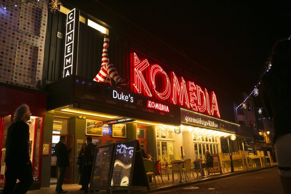 Komedia Venue Front ©Matthewandrews2013