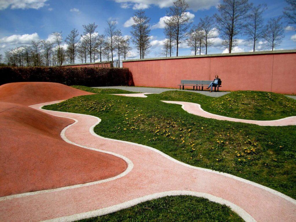 Munich Riem Park  La Citta Vita