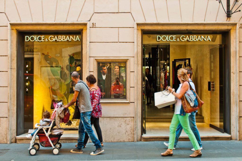 Picfair 040484 Dolce Gabbana Store