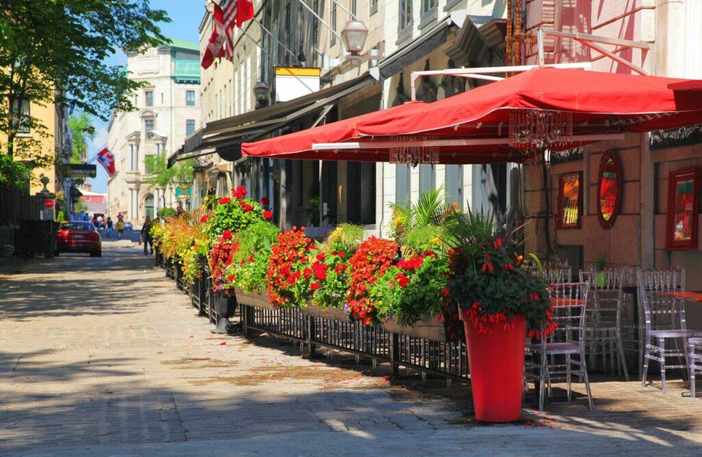 Patio In Quebec
