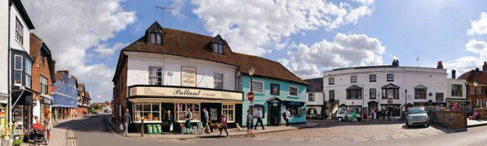 Shopping in South East England